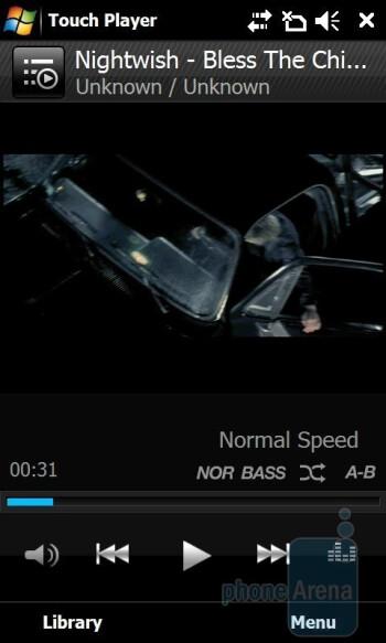 Video playback - Samsung Giorgio Armani B7620 Preview