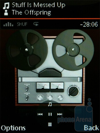 We are pretty pleased with the audio player of Sony Ericsson Yari - Sony Ericsson Yari Preview