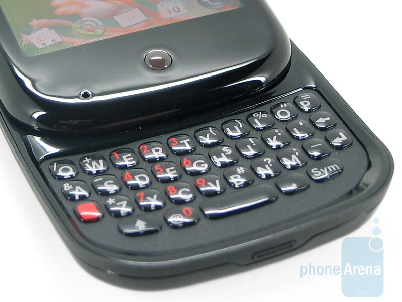 The slide-out QWERTY keyboard - Palm Pre Review