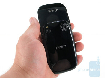 The Palm Pre is thicker than the iPhone - Palm Pre Review