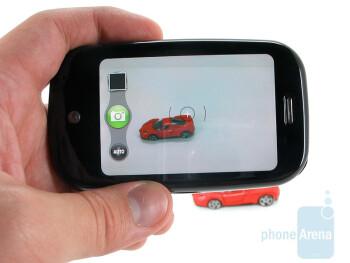 The camera interface of Palm Pre - Palm Pre Review