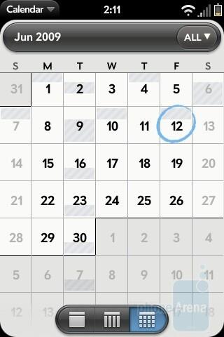 Calendar - Palm Pre Review