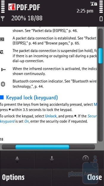 PDF - Viewing office documents on the Nokia N97 - Nokia N97 Review