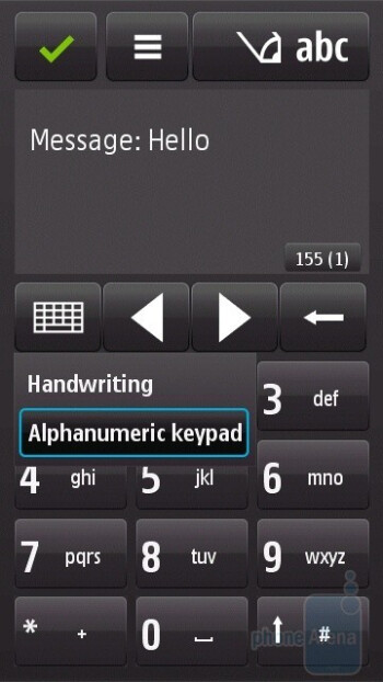 The virtual keyboards of the Nokia N97 - Nokia N97 Review