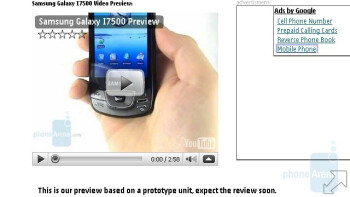 The web browser of the Nokia N97 is the same as the one in 5800 XpressMusic - Nokia N97 Review