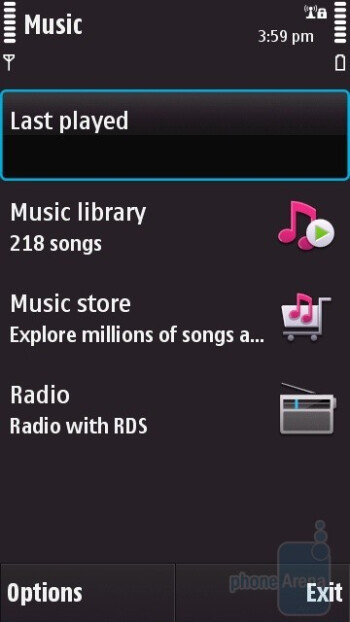 Music - Nokia N97 Review