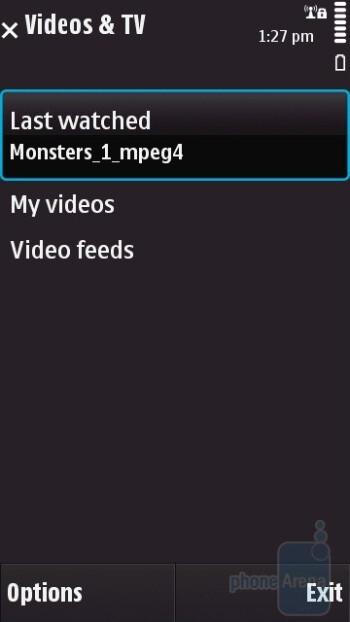 Videos&TV - Nokia N97 Review