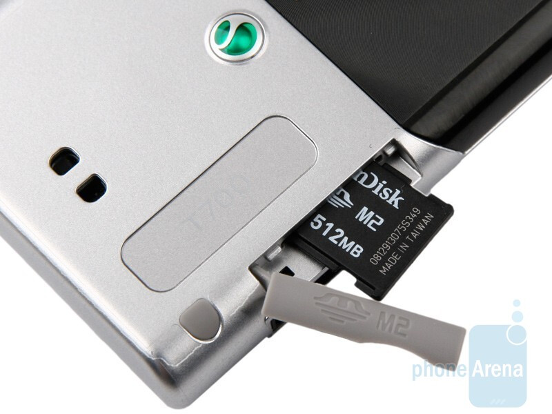 The memory card slot - Sony Ericsson T700 Review