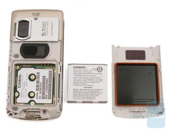 The back of the Casio Exilim C721 - Casio Exilim C721 Review