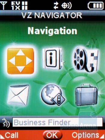VZ Navigator - Casio Exilim C721 Review