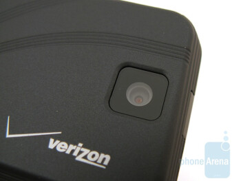 The 2-megapixel camera on the back ofthe Motorola Rival A455 - Motorola Rival A455 Review