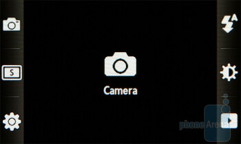 Camera interface - Samsung BEAT DJ M7600 Review