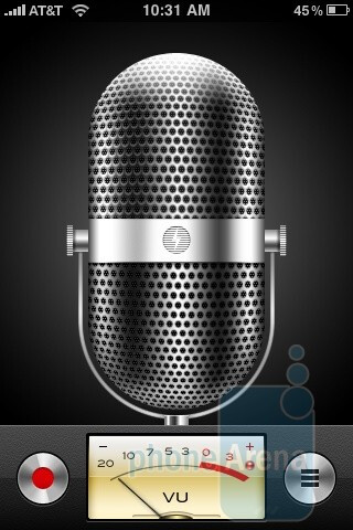 Voice Memos and Compass make their debut in the Apple iPhone 3GS - Apple iPhone 3GS Review