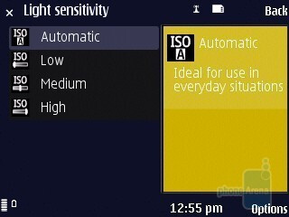 Camera interface - Nokia N86 8MP Review