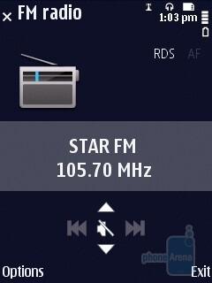 FM radio - Nokia N86 8MP Review