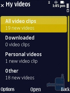Video centre - Nokia N86 8MP Review