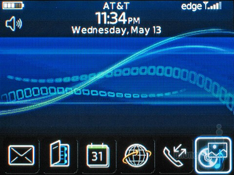 The RIM BlackBerry Curve 8520has abeautiful user interface - RIM BlackBerry Curve 8520 Review