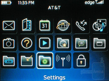 The RIM BlackBerry Curve 8520has a beautiful user interface - RIM BlackBerry Curve 8520 Review