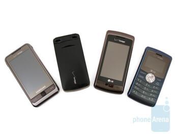 Verizon Cameraphone Comparison Q2 2009