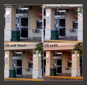 100% Crop - Verizon Cameraphone Comparison Q2 2009
