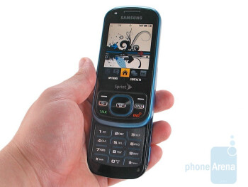 Samsung Exclaim SPH-M550 Review