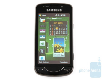 The display delivers lively colors - Samsung OmniaPRO B7610 Preview
