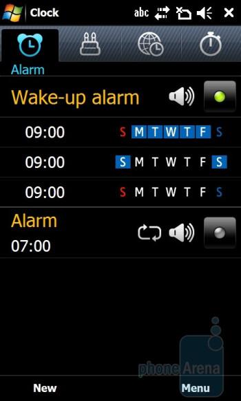 Alarm Clock - Samsung OmniaPRO B7610 Preview