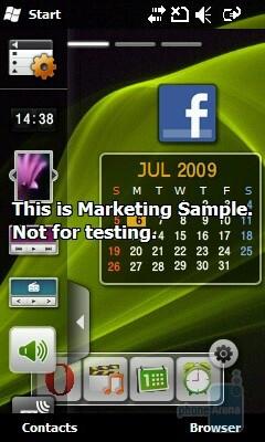 TouchWiz on the Samsung OmniaLITE B7300 - Samsung OmniaLITE B7300 Preview