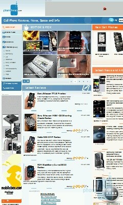 Internet Explorer 6 - Samsung OmniaLITE B7300 Preview