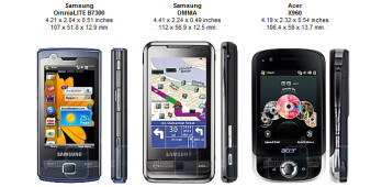 Samsung OmniaLITE B7300 Preview