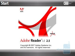 Adobe Reader LE - Software features of the HTC Snap CDMA - HTC Snap CDMA Review