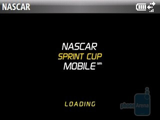 Sprint NASCAR Mobile - Software features of the HTC Snap CDMA - HTC Snap CDMA Review
