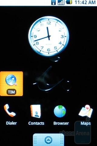 Home screen - HTC Magic Review