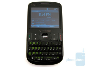 The QWERTY keyboard of HTC Ozone XV6175 - HTC Ozone XV6175 Review