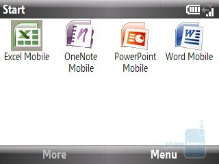 Adobe Reader LE and Office Mobile - HTC Ozone XV6175 Review