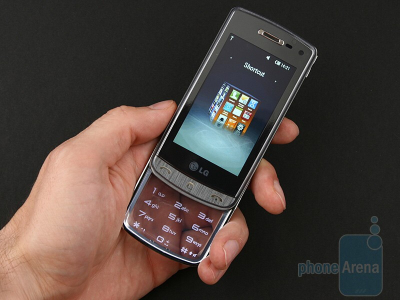 The LG Crystal GD900 sports a downright unique design - LG Crystal GD900 Review