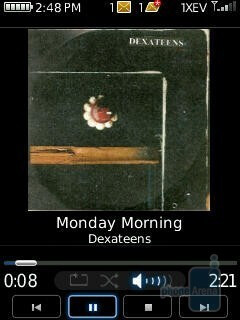 Media player - RIM BlackBerry Pearl Flip 8230 Review