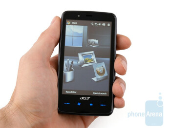 The Acer F900 is bulky - Acer F900 Review