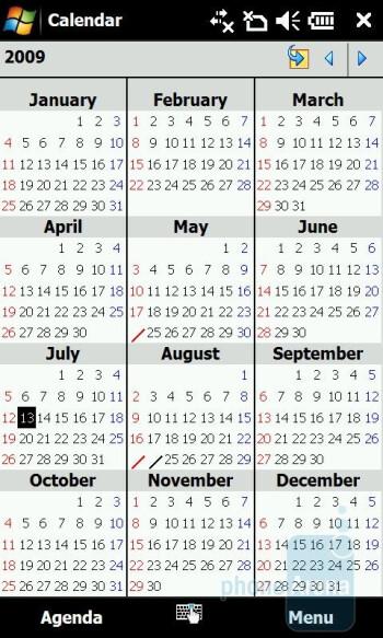 Calendar - Acer F900 Review