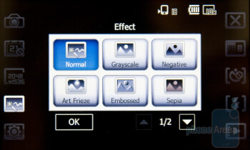 Camera interface - Acer F900 Review