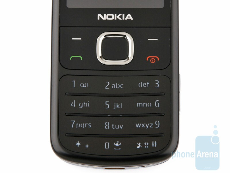 The numeric keypad of the Nokia 6700 classic is not very comfortable to use - Nokia 6700 classic Review