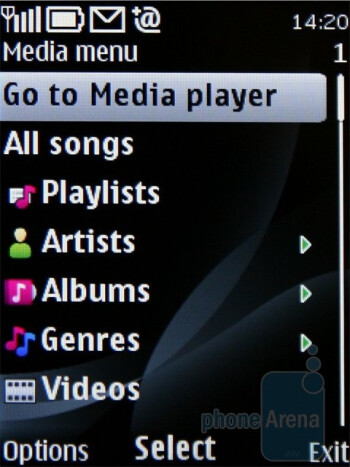 Media player - Nokia 6700 classic Review
