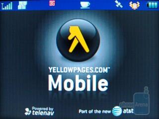 Yellowpages mobile - Motorola Karma QA1 Review
