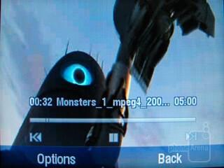Playing videos with Motorola Karma QA1 - Motorola Karma QA1 Review