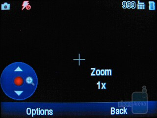 Camera interface - Motorola Karma QA1 Review