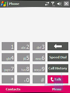 Common PPC with Portrait Display - Dialers - i-mate JAQ3 Review