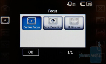 The camera interface of the  Acer M900 - Acer M900 Review