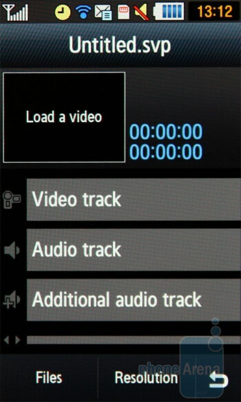 Video editor - Samsung Jet S8000 Review