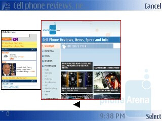 Browsing the Internet with Nokia 6790 Surge - Nokia 6790 Surge Review