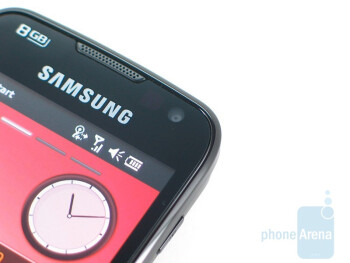 Front side camera - Samsung Omnia II I8000 Review
